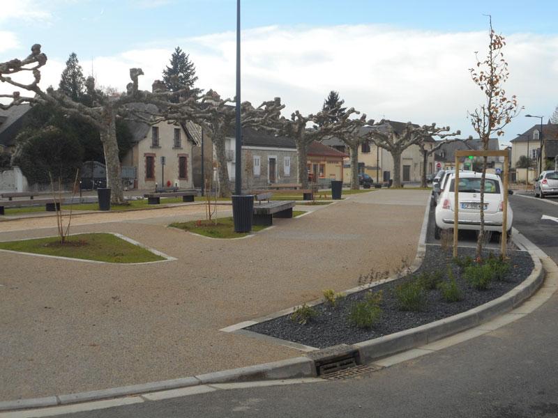 Aménagement Place de la Pujolle