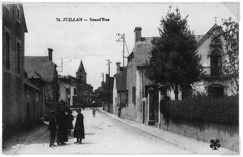 Histoire de la commune de Juillan - Grand Rue