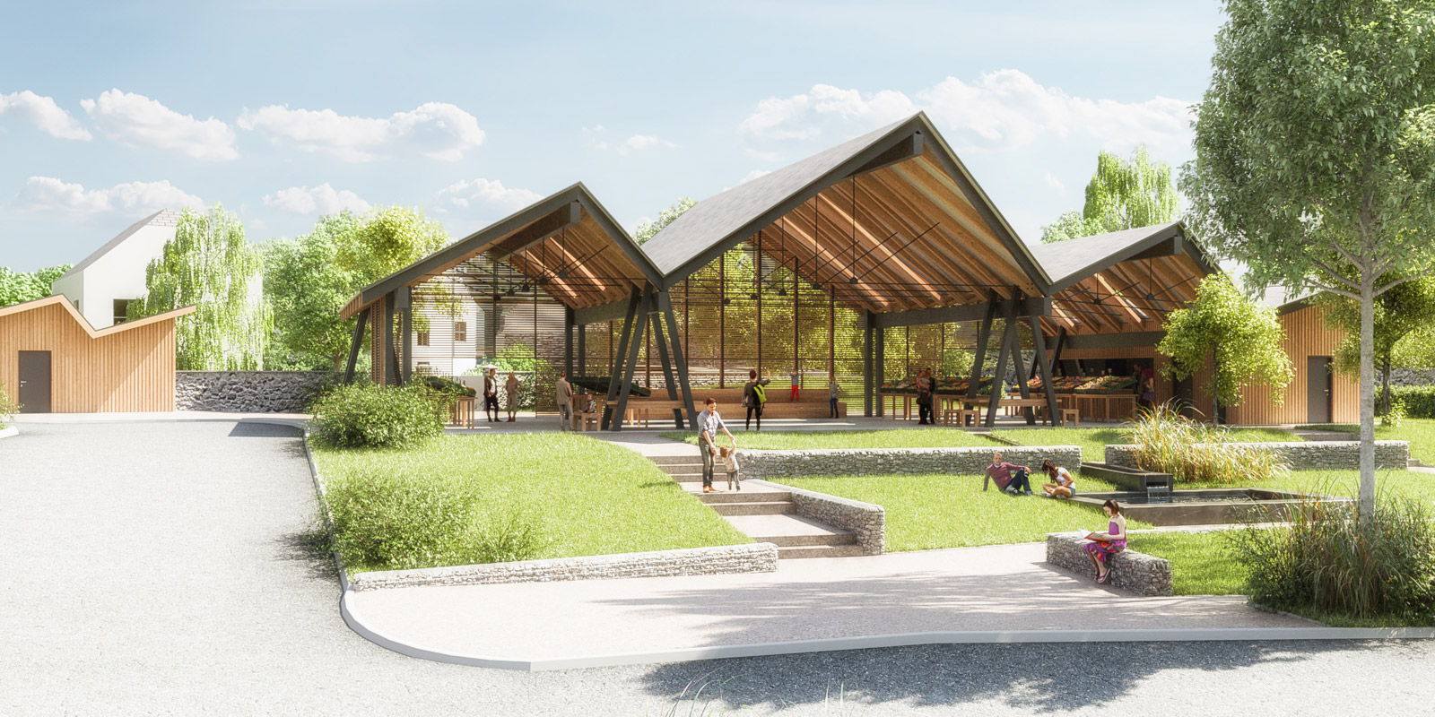 Juillan - Ville des Hautes-Pyrénées - Future Halle